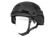 Lancer Tactical ACH MICH 2000 Helmet (Black/Special Action Version)