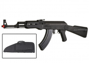 Combat Machine RK-47 AEG Airsoft Gun (Black) (Gun Bag Combo)