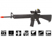 Echo 1 Platinum Limited Edition Full Metal M16 w/ Madbull DD Omega RIS AEG Airsoft Gun (Black)