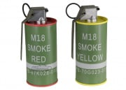 G&G Replica M18 Smoke Grenade BB Container ( Red & Yellow )