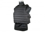 J-Tech Releasable Raider Plate Carrier (Black/Tactical Vest)