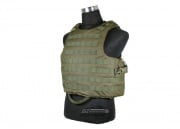 J-Tech Releasable Raider Plate Carrier (OD/Tactical Vest)