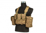 King Arms MPS AK Combat Chest Rig (Tan)