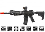 King Arms Full Metal S&W M&P15 PSX Carbine AEG Airsoft Gun (Black)