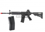 KWA Full Metal KM4 RIS 2GX AEG Airsoft Gun w/Additional High Capacity Magazine Package Deal