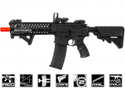 Lancer Tactical Elite Polymer Multi Mission 10.5 RIS Carbine (MMC) AEG Airsoft Gun (Black/Low FPS)