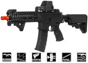 Lancer Tactical Elite Electric Recoil Multi Mission 10.5 RIS Carbine (MMC) AEG Airsoft Gun (Black/Polymer)