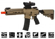 Lancer Tactical Elite Polymer Multi Mission 10.5 RIS  Carbine (MMC) AEG Airsoft Gun (Tan)