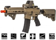 Lancer Tactical Elite Electric Recoil Multi Mission 10.5 RIS Carbine (MMC) AEG Airsoft Gun (Tan/Polymer)