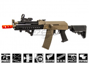 Lancer Tactical LT10T AK Tactical RIS Carbine AEG Airsoft Gun (Tan)