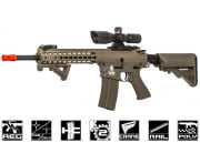 "Lancer Tactical M4 RIS EVO 10"" KeyMod AEG Airsoft Gun (Tan/Polymer Body)"