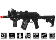 Lancer Tactical LT16C AKS74UN RIS Carbine AEG Airsoft Gun (Black)