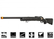 Lancer Tactical M24B Bolt Action Sniper Rifle Airsoft Gun (BLK)