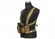 Lancer Tactical D-Mittsu Chest Rig (Coyote Brown)