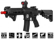 Lancer Tactical Elite Polymer Multi Mission 10.5 RIS  Carbine (MMC) AEG Airsoft Gun (Black)