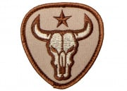 MM Bull Skull Patch (Desert)
