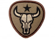 Mil-Spec Monkey Bull Skull Patch (Forest)
