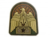 MM Industrial Eagle PVC Patch (Multicam)