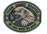 Mil-Spec Monkey Honey Badger PVC Patch (Forest)