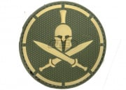 MM Spartan Helmet PVC Patch (Multicam)