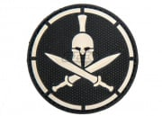MM Spartan Helmet PVC Patch (SWAT)