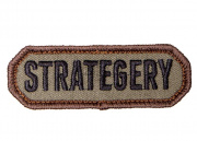 Mil-Spec Monkey Strategery Patch (Forest)