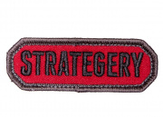 MM Strategery Patch (Red)