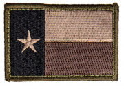 MM Texas Flag Patch (Forest)