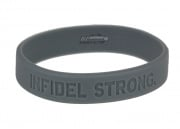 MM Infidel Strong Band ( Grey ) Large