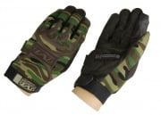 * Discontinued * Mechanix Wear M-Pact Gloves (Woodland/Small)