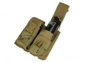 Condor Outdoor MOLLE Dual Flash Bang Pouch (Tan)