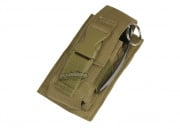 Condor Outdoor MOLLE Single Flash Bang Pouch (TAN)
