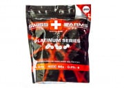 Swiss Arms Platinum Series .25g 4000 ct. by King Arms ( White )
