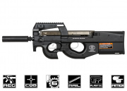 FN Herstal P90 AEG Airsoft Gun w/ Barrel Extension (by Asia Electric Guns)