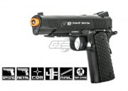 Double Eagle M291 1911 Tactical Rail Metal Spring Pistol Airsoft Gun