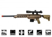 Action Army AAC-21 Bolt Action Gas Sniper Rifle Airsoft Gun (Flat Dark Earth)