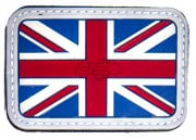Emerson UK Flag PVC Patch (Red/White/Blue)
