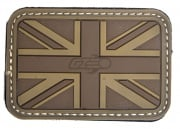 Emerson UK Flag PVC Patch (Tan)