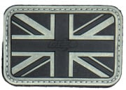 Lancer Tactical UK Flag PVC Patch (Glow in the Dark)