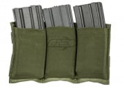 Lancer Tactical Triple M4 Magazine Pouch (OD)