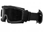 Lancer Tactical CA-221B Airsoft Safety Goggles Vented - Black Frame/Smoke Lens