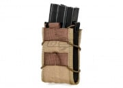 Lancer Tactical M4/M16 Clam Single Magazine Pouch (Tan)