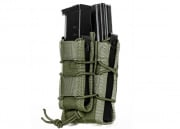Lancer Tactical M4/M16 Clam Stacker Magazine Pouch (Ranger Green)