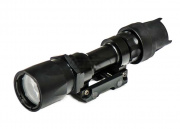 Lancer Tactical 200 Lumen Flashlight With QD Mount (Black/Style 2)