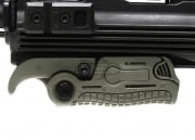Lancer Tactical AB163 Extendable Folding Vertical Grip (Foliage Green)