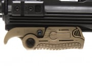Lancer Tactical AB163 Extendable Folding Vertical Grip (Dark Earth)