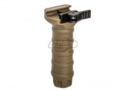 Lancer Tactical DT Long QD Vertical Fore Grip (Tan)