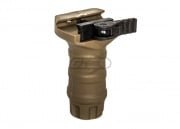 Lancer Tactical DT Short QD Vertical Fore Grip (Tan)
