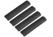 Lancer Tactical DT Long Rail Cover 4 PC. Set (Black)