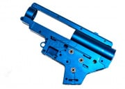 Lancer Tactical Ver. 2 8mm QD Gearbox Shell w/ Bearings (Blue)